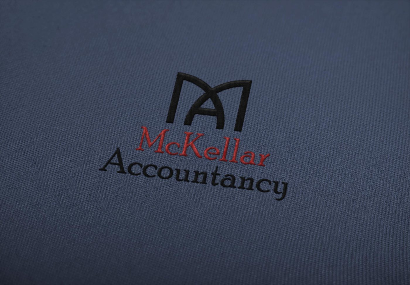 embroidered logo mockup dg mckellar accountancy
